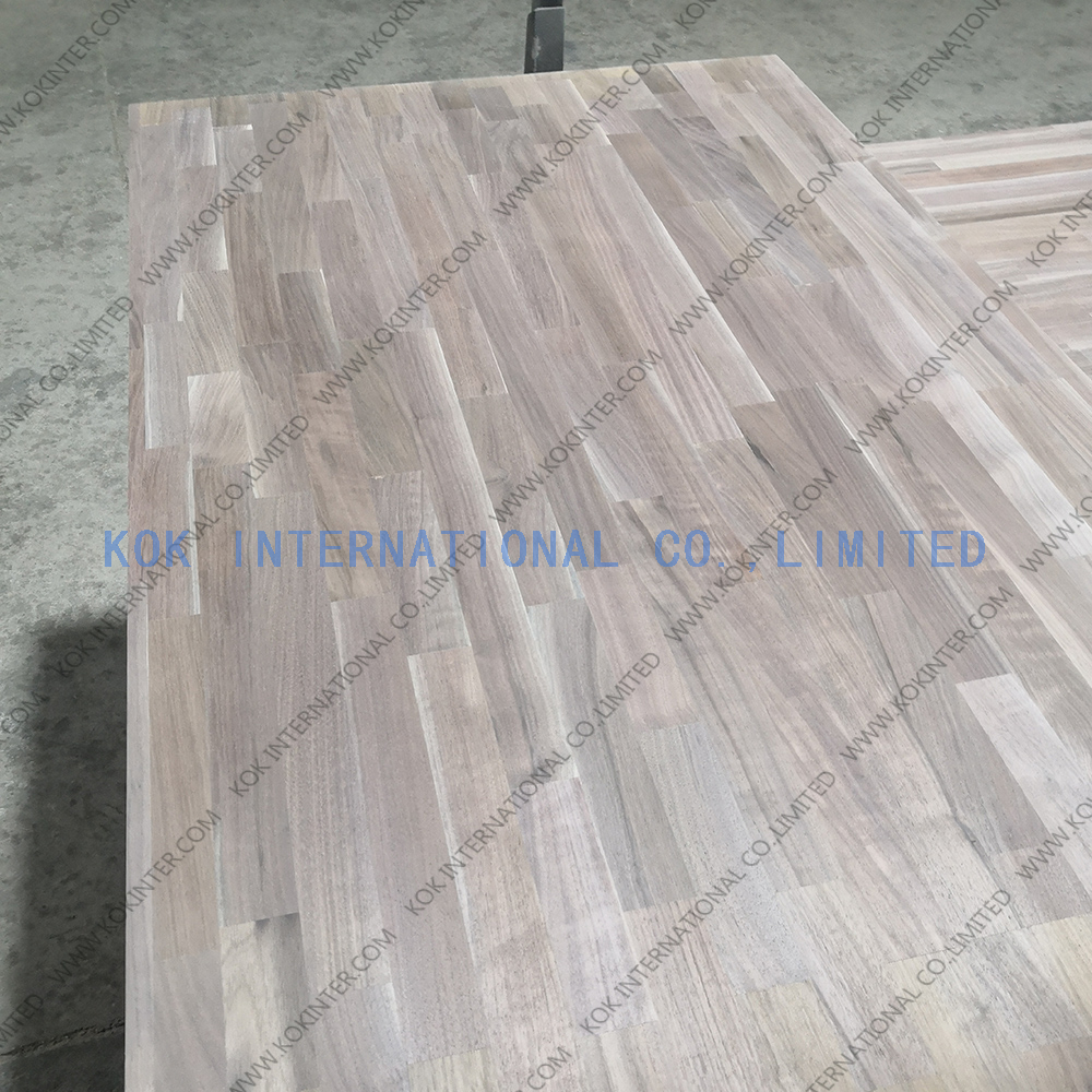 Dulex walnut finger joint board panel for furniture worktop table tops butcher countertops