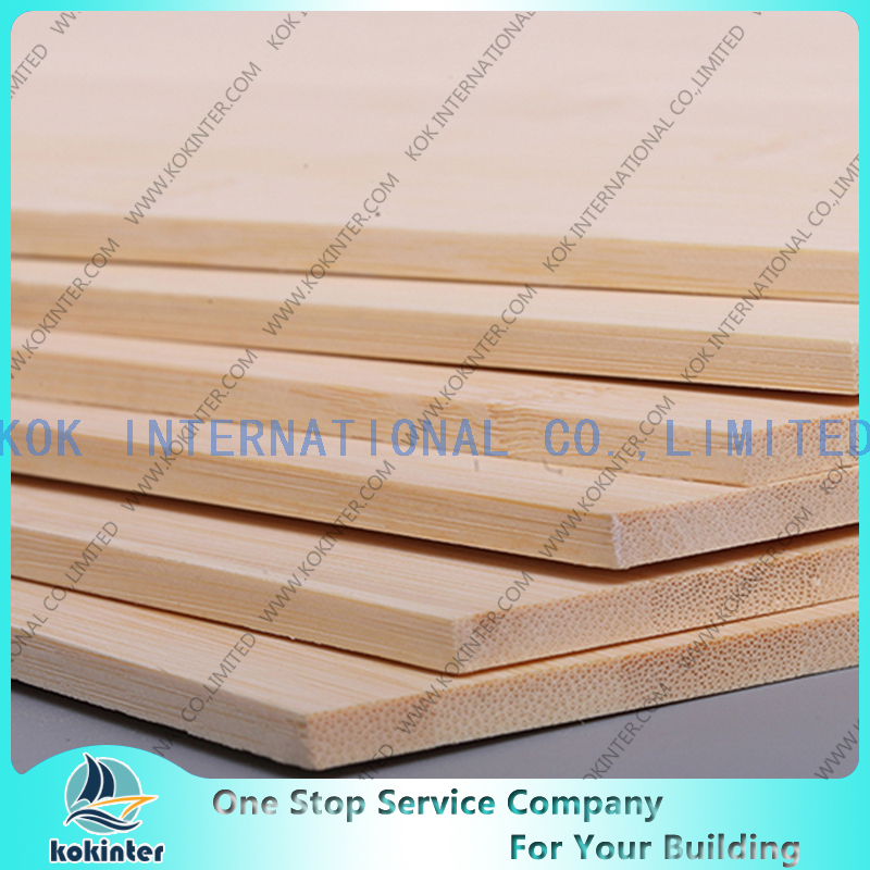 Horizontal natural Single Layer Bamboo Panel / Bamboo Board / Bamboo Plank /Bamboo parquet for furniture/ wall decorative / countertop / worktop / cabinets