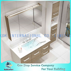Bathroom floor stand cabinet Vanity set B02