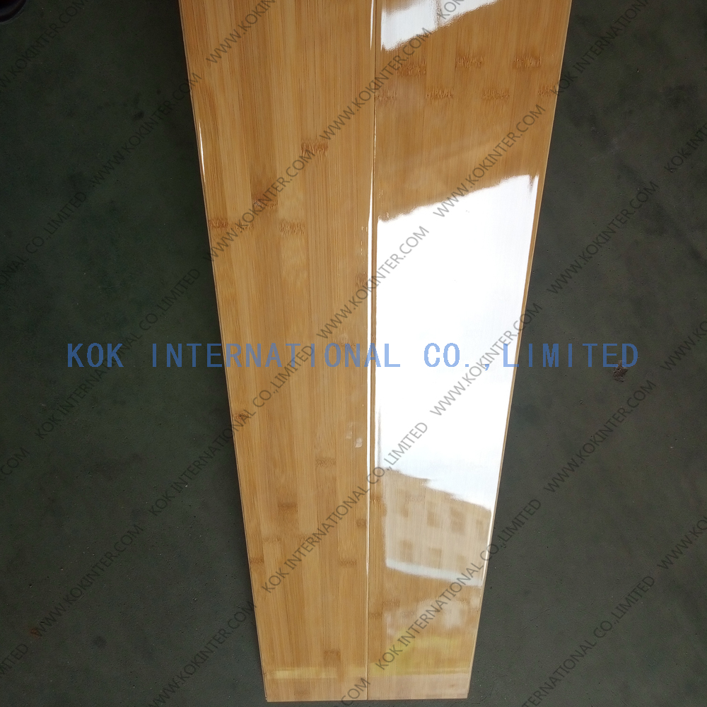 high glossy solid bamboo flooring